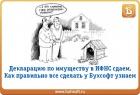Декларации по налогу на имущество: порядок заполнения