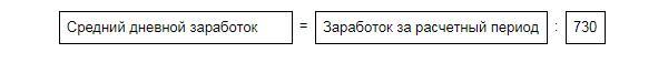 формула среднего заработка